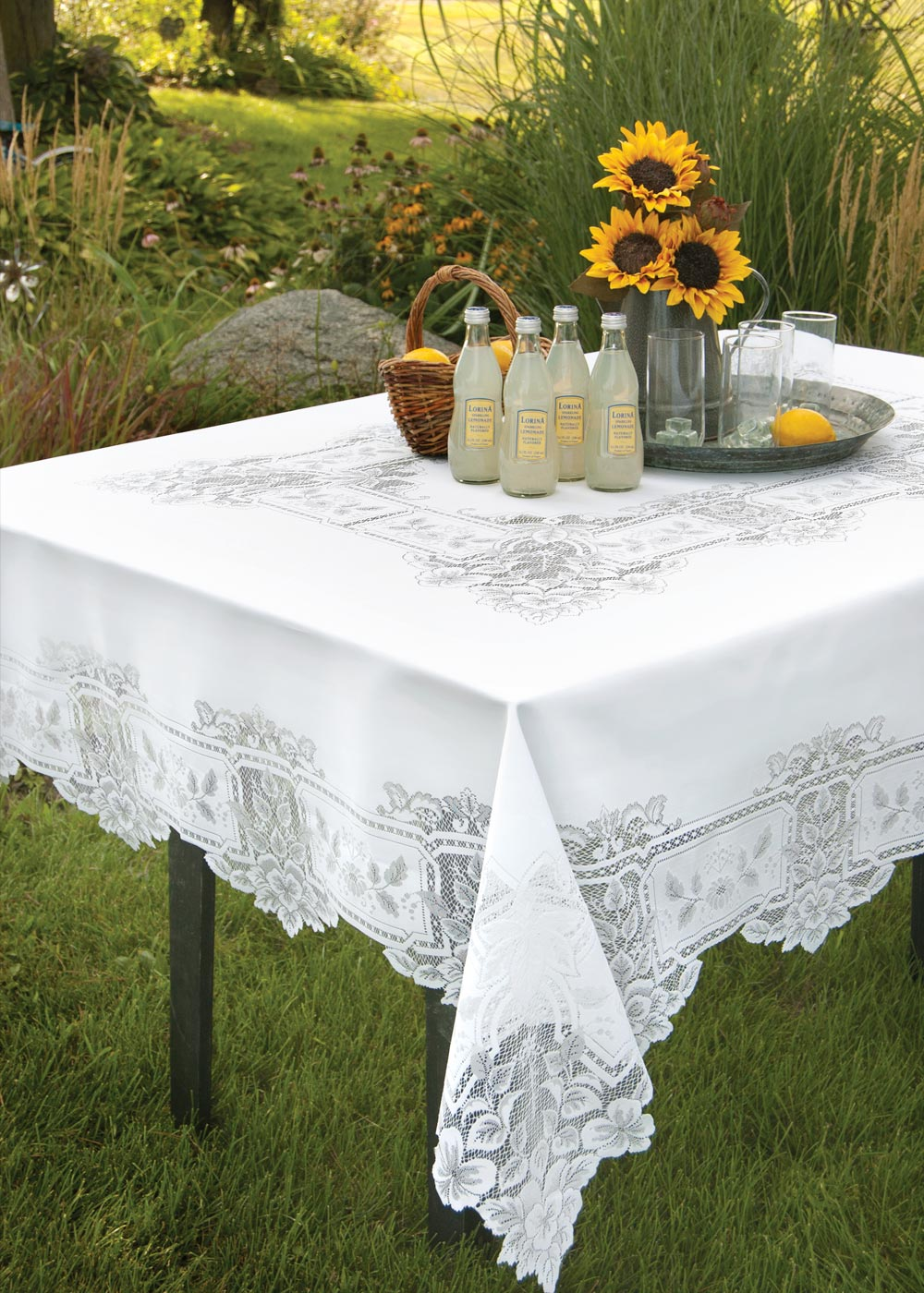 Heirloom Rectangle Tablecloth Heritage Lace