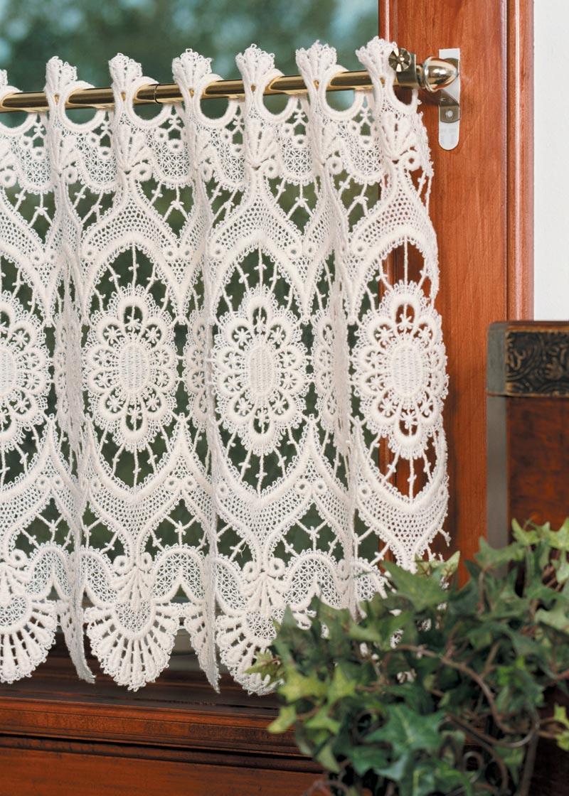 Marquise Macram 233 Valance Heritage Lace