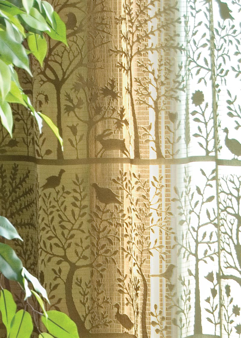 Lace Curtain Valance Tree Of Life From Rabbit Hollow