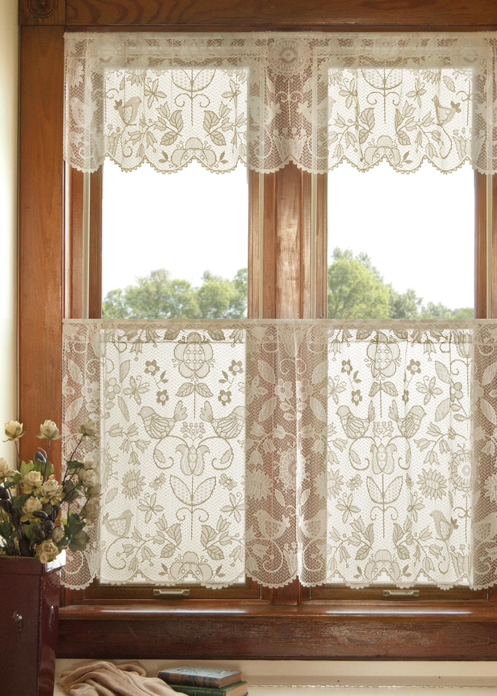 Rhapsody Valance Heritage Lace