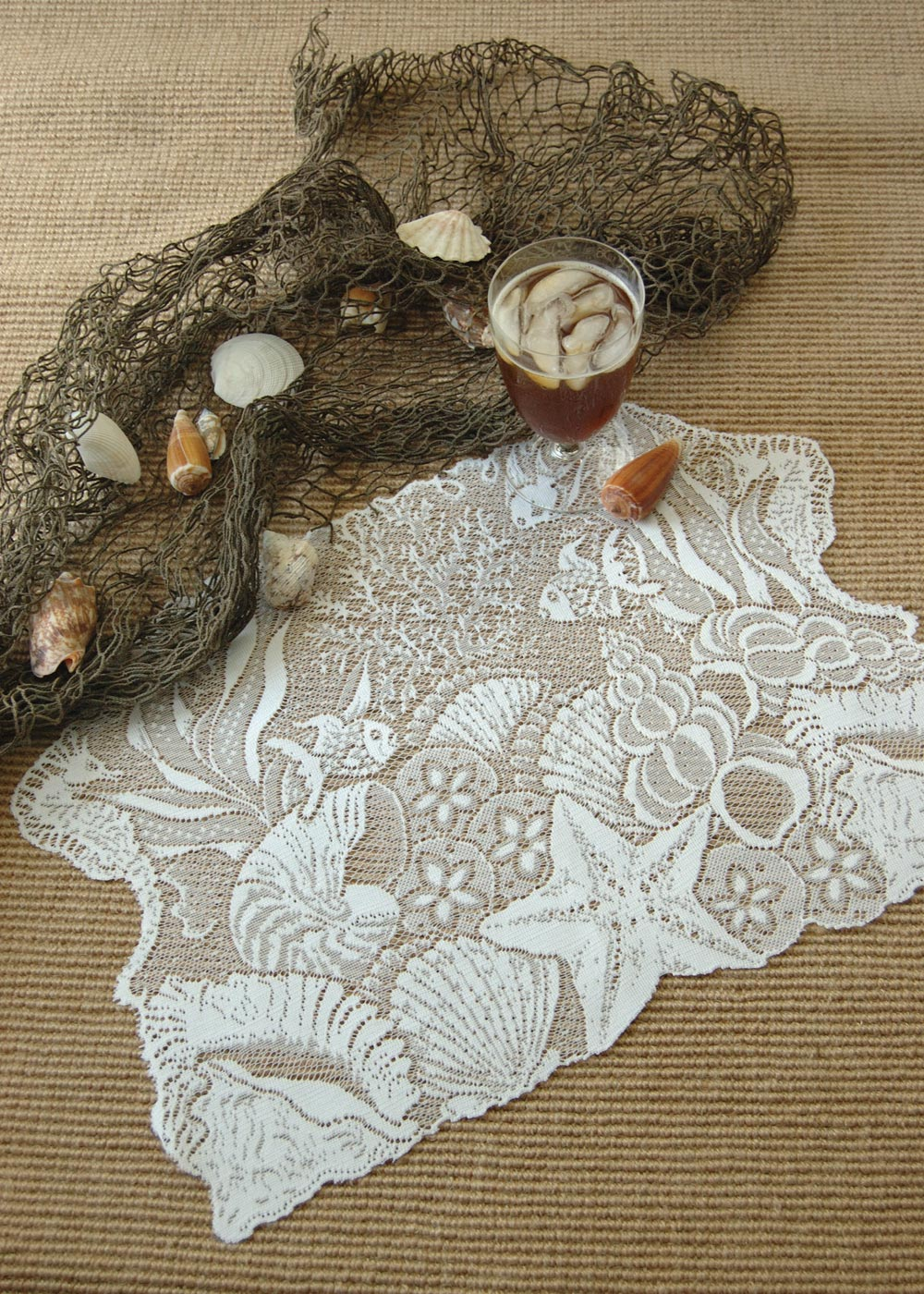 Seascape Placemat Heritage Lace