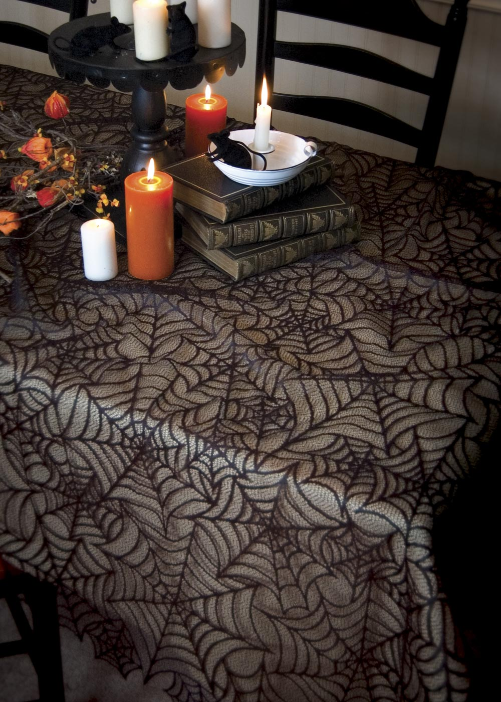 Spider Web Rectangle Tablecloth Heritage Lace