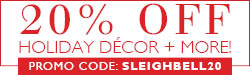 20% Off Holiday Décir