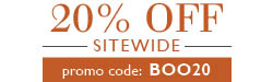 Sitewide 20% Off